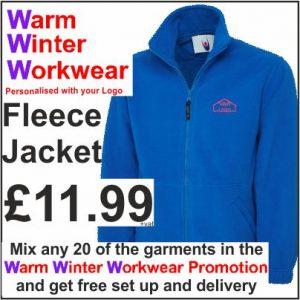 Warm Winter Workwear Promotion Fleece