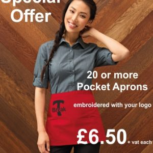 20 Pocket Aprons Offer