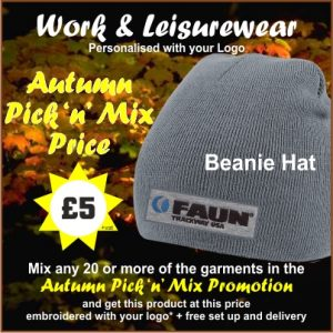 Autumn Pick n Mix Beanie Hat