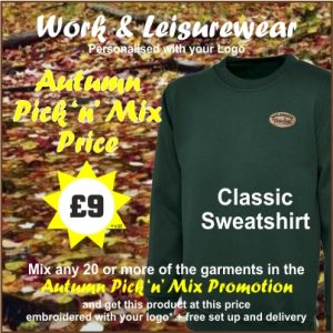 Autumn Pick n Mix Classic Sweatshirt