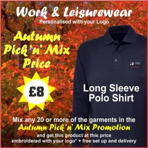 Autumn Pick n Mix Long Sleeve Polo Shirt