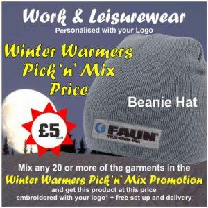 Winter Warmers Beanie Hat