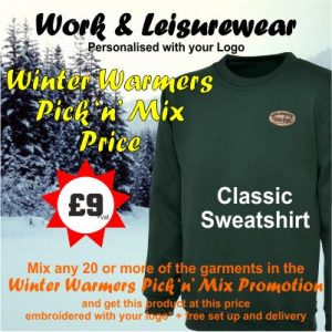 Winter Warmers sweatshirt