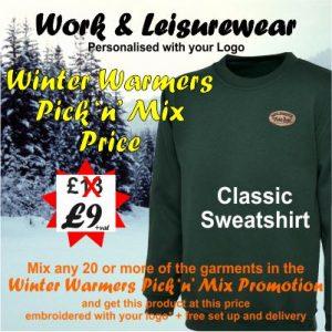 WarmersOct19 Sweatshirt