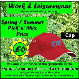 Spring Pick n Mix Cap